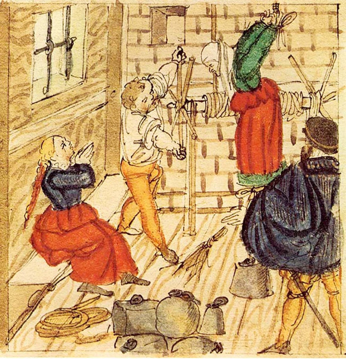 Mittelalter tortur nude image