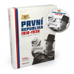 Kniha s artefakty: První republika 1918–1938 s CD – výroční vydání
